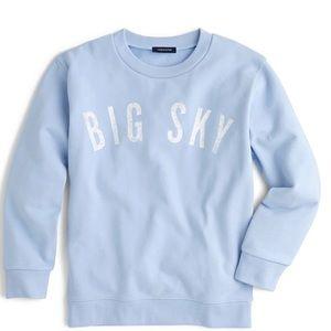 Jcrew Limited Edition Big Sky MT Sweatshirt